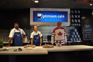 Optimism cafe image
