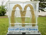 Dollar Drink Days Cool Concept