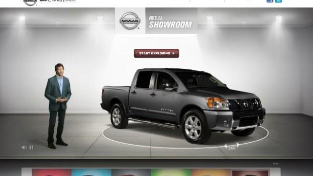 Nissan Canada showroom