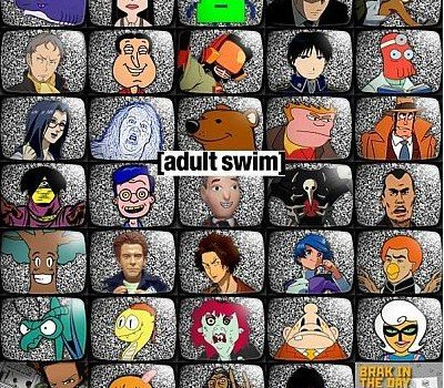 All shows on adult swim