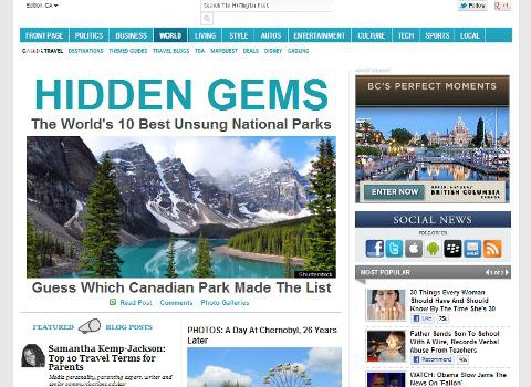 HuffPost Canada Travel