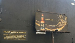 MOLSON COORS CANADA - Paint with a Tweet