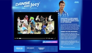 Danse avec Joey