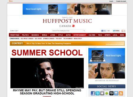 HuffPostCanadaMusic