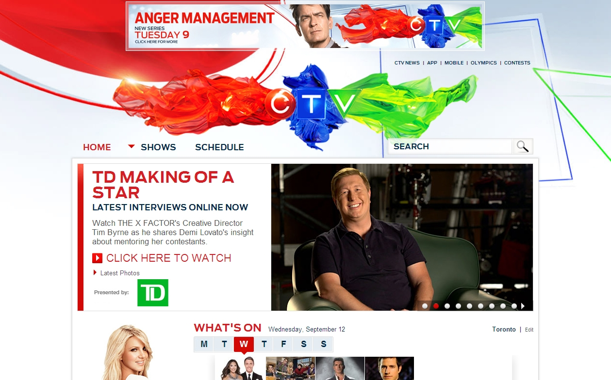 Td Makes Its Debut On The X Factor Media In Canada