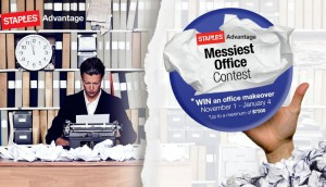 STAPLES ADVANTAGE CANADA - Messiest Office contest