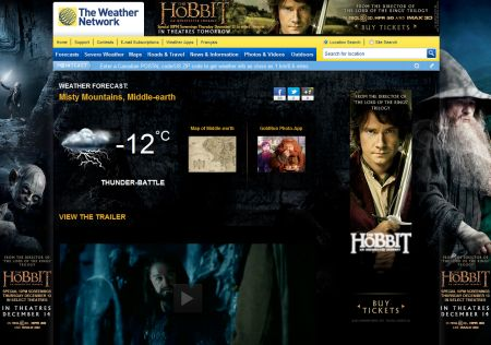 WeatherNetworkHobbit
