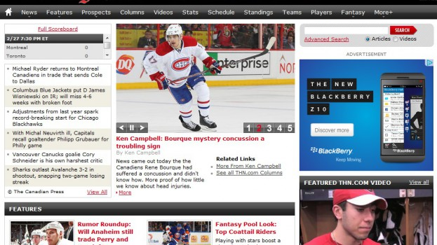Cue Hockey News