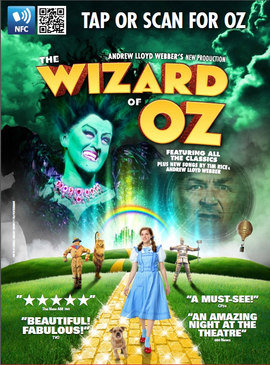Mirvish Conjures Up Smartposter Campaign For Wizard Of Oz
