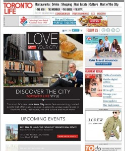 Toronto Life Love Your City