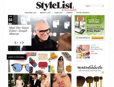 StyleListCanada