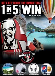 KFC Bucket List