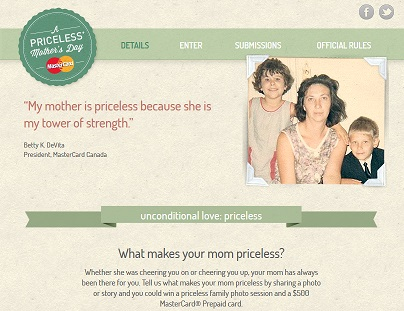 MasterCard Mothers