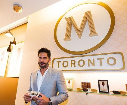 MAGNUM - Actor Joe Manganiello visits the Magnum Pleasure Store
