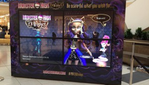 Monster High Activation - Scarborough Town Centre 2