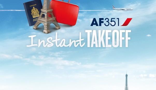 AF 351 Instant Takeoff Paris