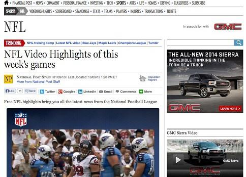 Postmedia SendtoNews Screen Shot