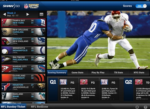 Copied from Playback - NFL app