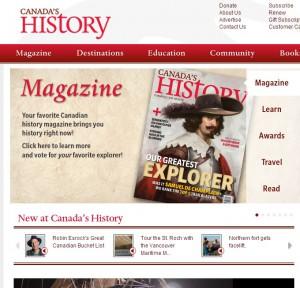 canadas history