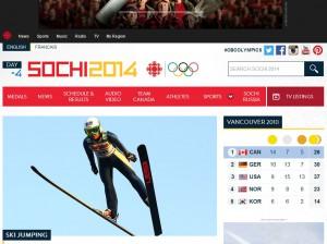 cbc olympics website