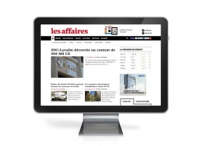 les affaires redesign