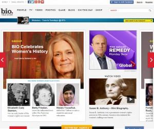 bio dot com say media