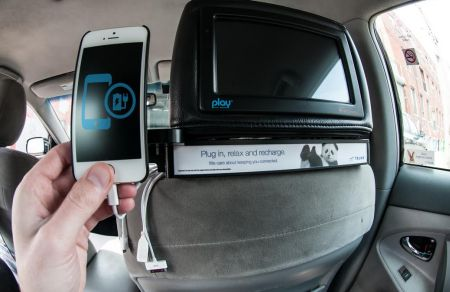 Canadians get charged up with Telus and Play Taxi Media » Media in