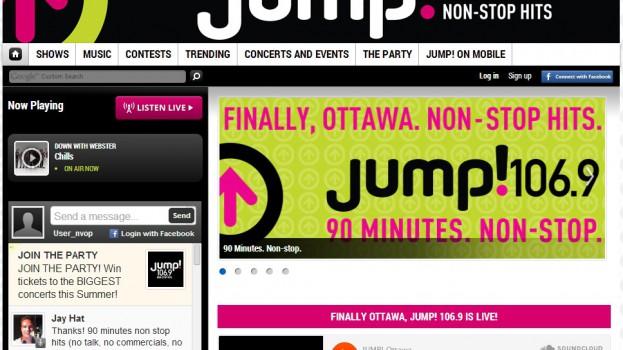 jump 1069 corus ottawa radio