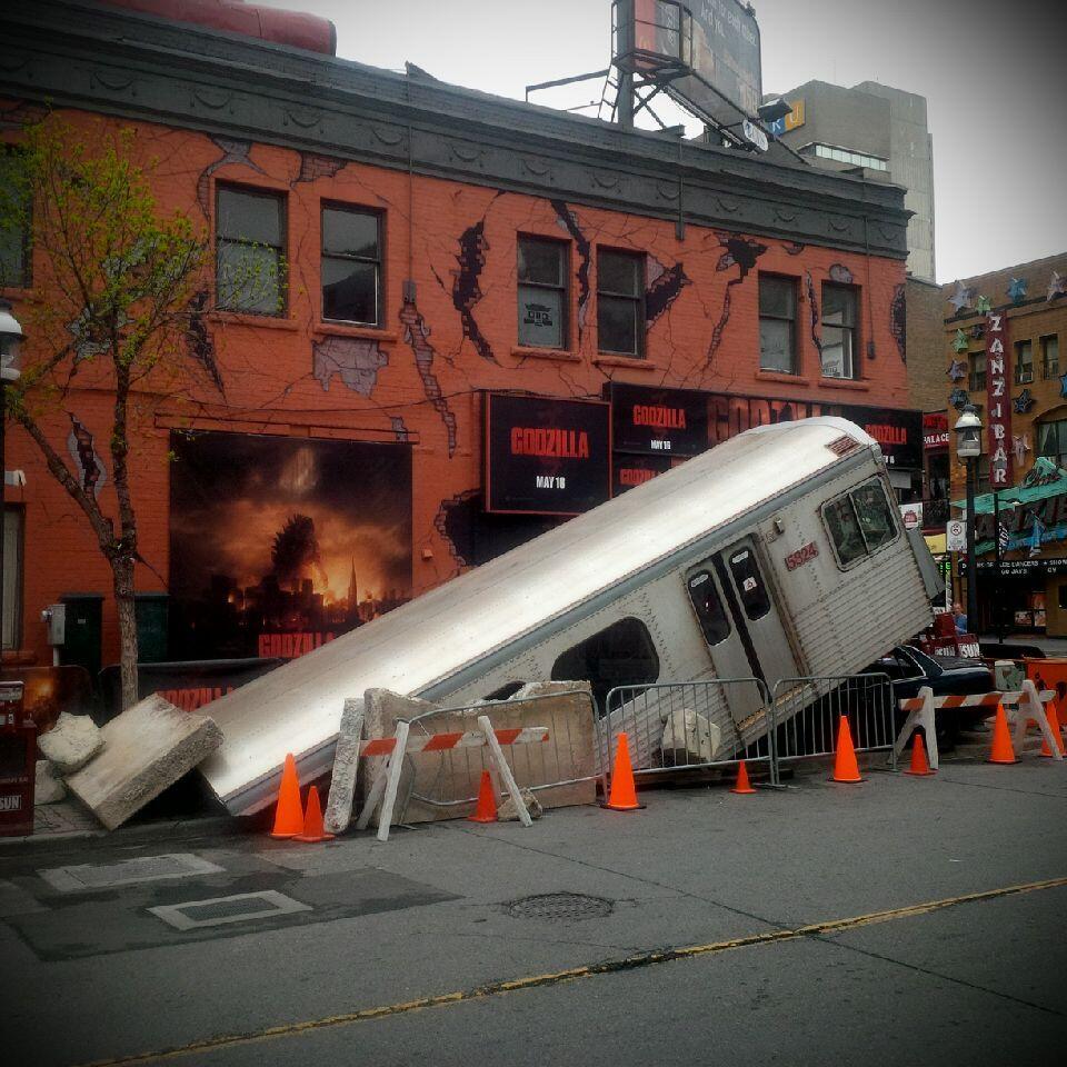 Spotted Godzilla Wreaks Havoc On Downtown Toronto 187 Media