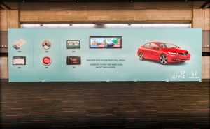 Honda Wall Display & Screen
