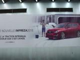 Subaru Wall Wrap
