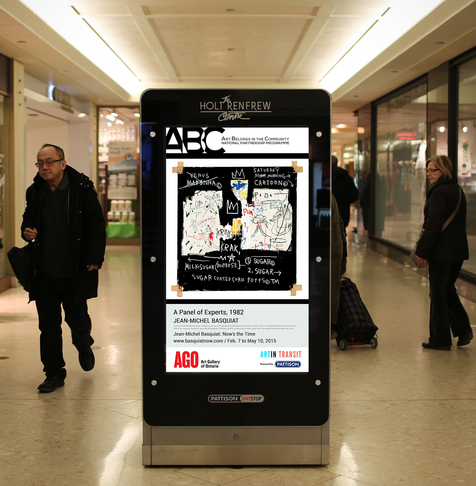 spotted  art comes to the mall  u00bb media in canada