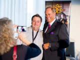 BCON Expo attendee with CBC Dragons' Den's Jim Treliving