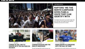 Vice Canada, sports, website, launch