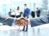 handshake, people move