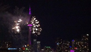 Pan Am Games, Toronto, summer, fireworks
