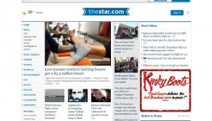 canadian media, newspaper, revenue
