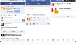 Facebook election