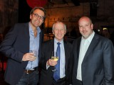 Andrew Saunders, CRO, Phillip Crawley, CEO and publisher, Sean Humphrey, VP of marketing, Globe and Mail
