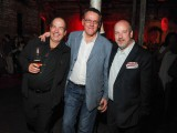 Jim Whitney, creative director and founding partner at Naked Creative, Peter Shier, partner and president at Naked Creative, Sean Humphrey, VP of marketing at the Globe and Mail