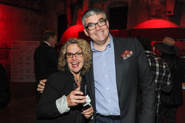 Connie Corner, director of brand partnerships; Robert Jenkyn, managing director, advertising, Globe and Mail