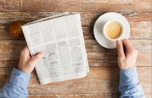 newspaperShutterstock