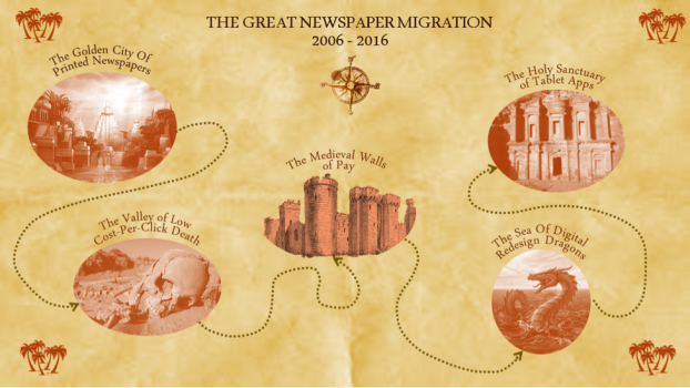 The great newspaper migration