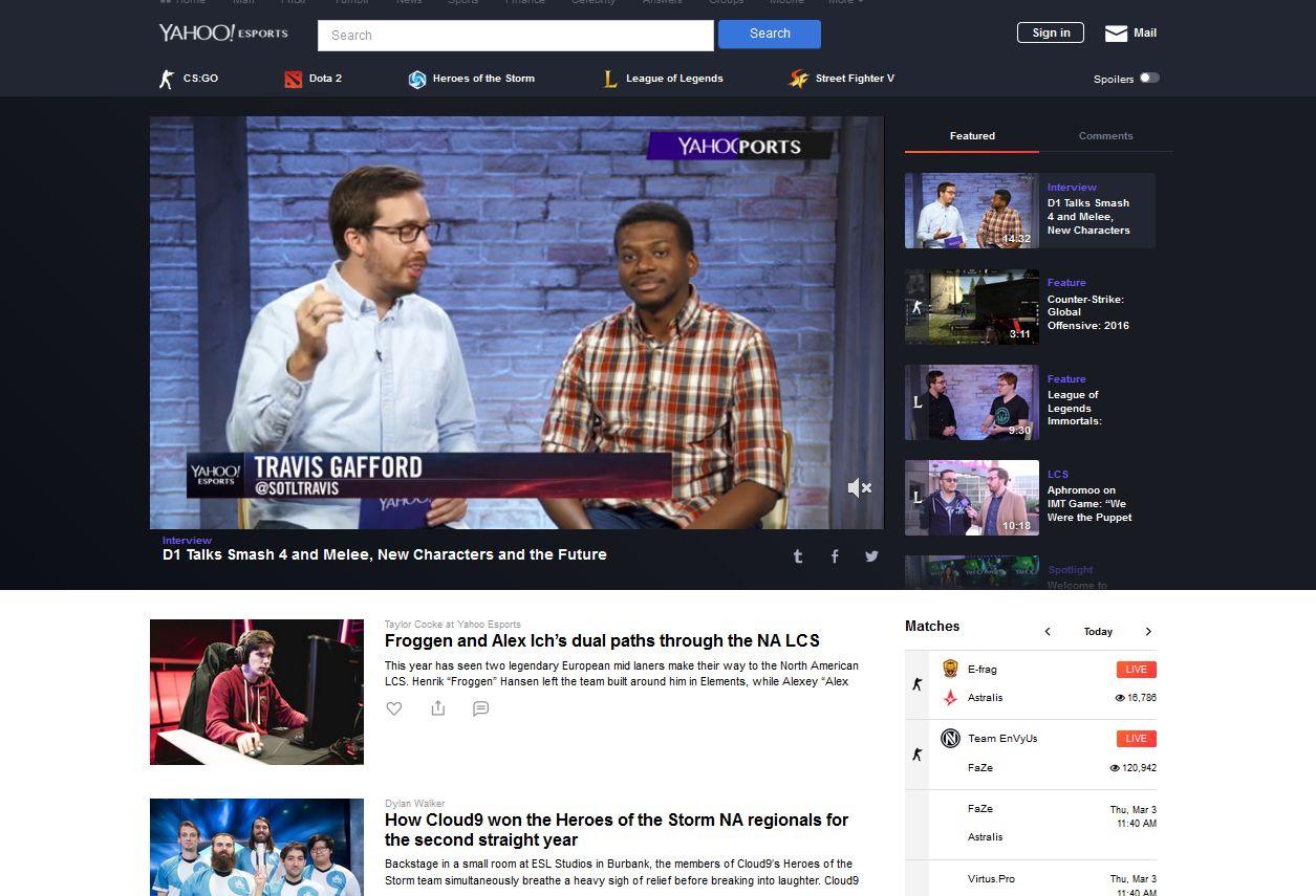 Yahoo Sports Chat Room