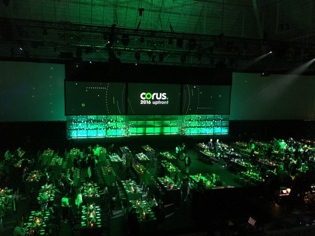 Corus upfront - Maple Leaf Gardens - 2016