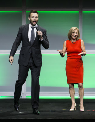 corus - Joel McHale and Barb Williams