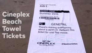 Cineplex Towels WeatherOrNot