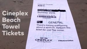 Cineplex Towels WeatherOrNot