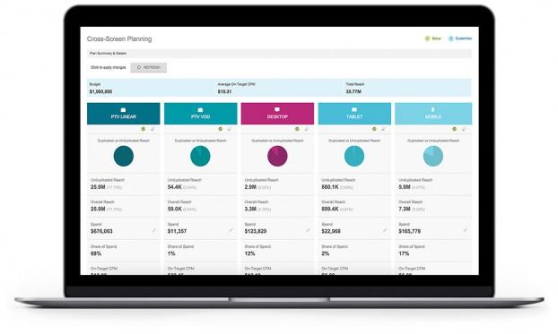 TubeMogul's Cross-Screen Planner Software