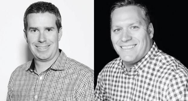 Keith Eadie, chief marketing and strategy officer at TubeMogul; and Dana Toering, managing director of TubeMogul Canada